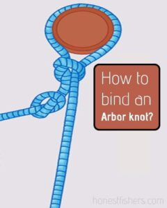 How to bind an Arbor knot?