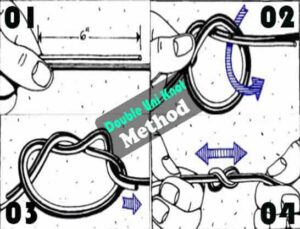 Double-Uni-Knot: How to Tie Leader to Fly Line