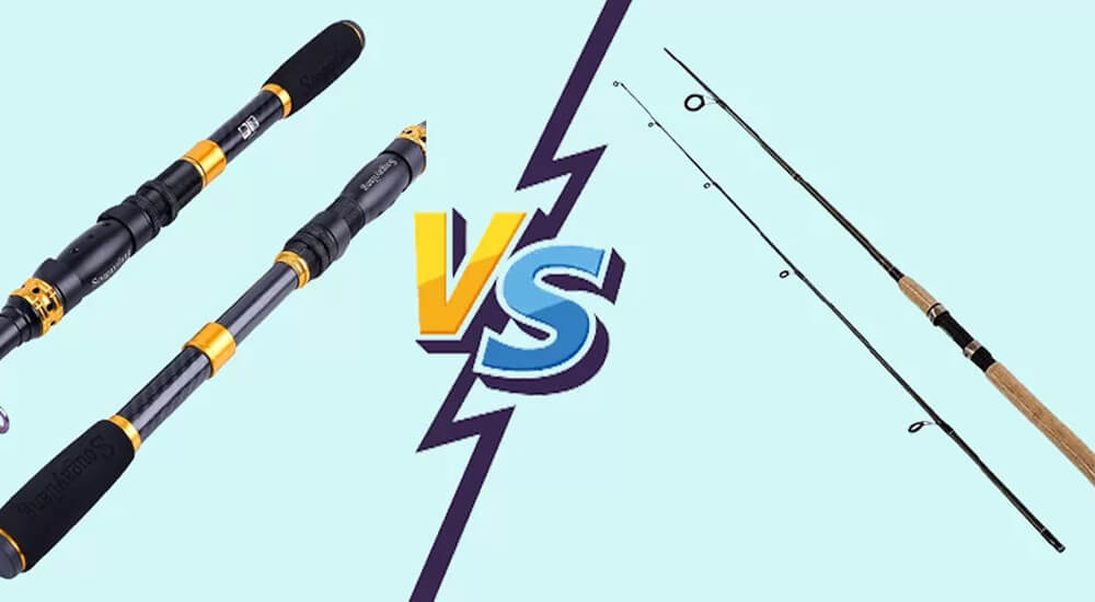Telescopic Fishing Rod Vs 2 Piece : What You Need To Know?
